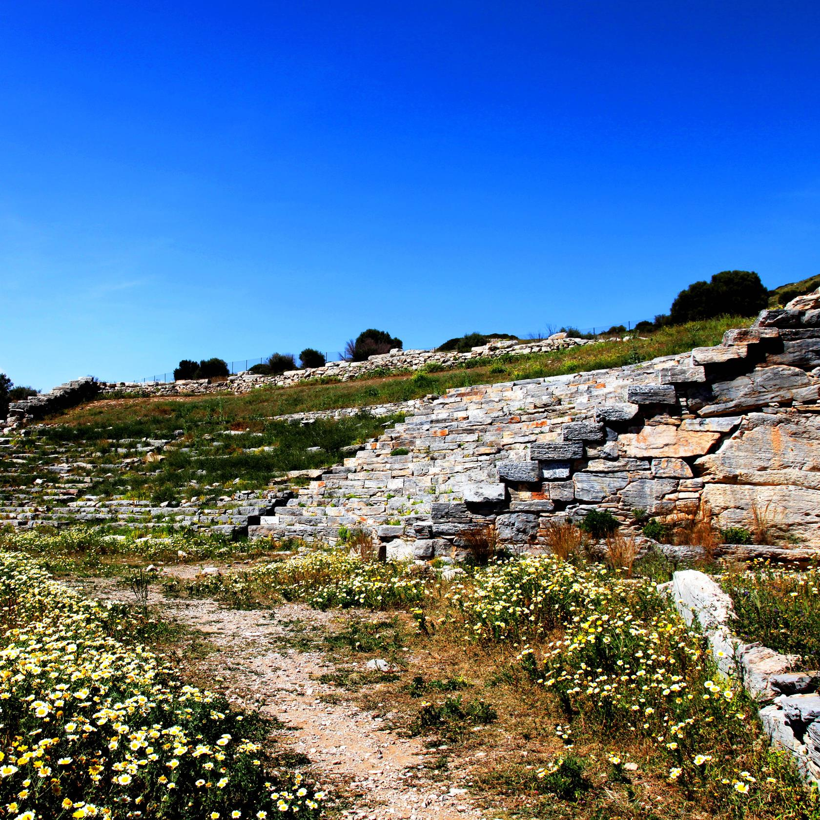 The Ancient theater of Thorikos