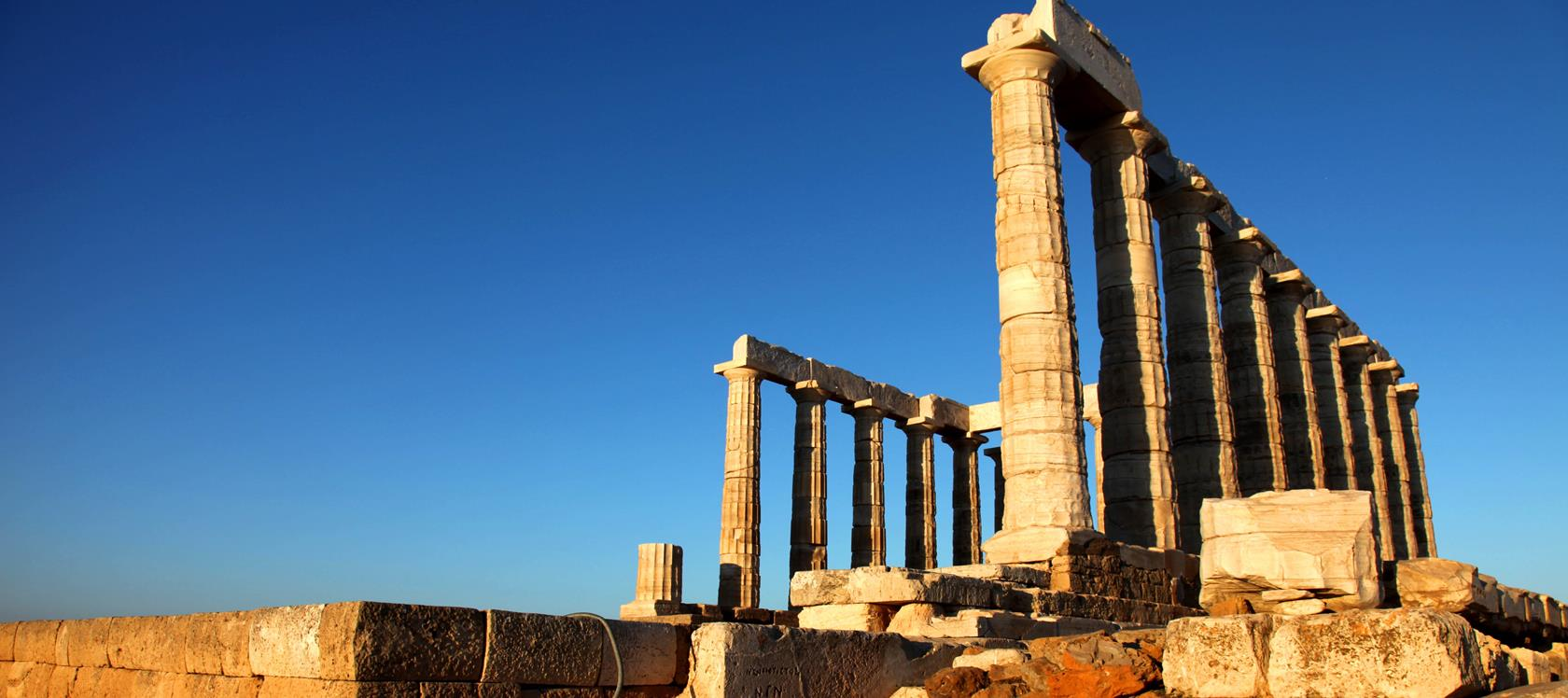 Poseidon's Temple in Sounio