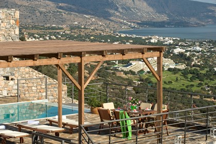 Pergola at the terrace