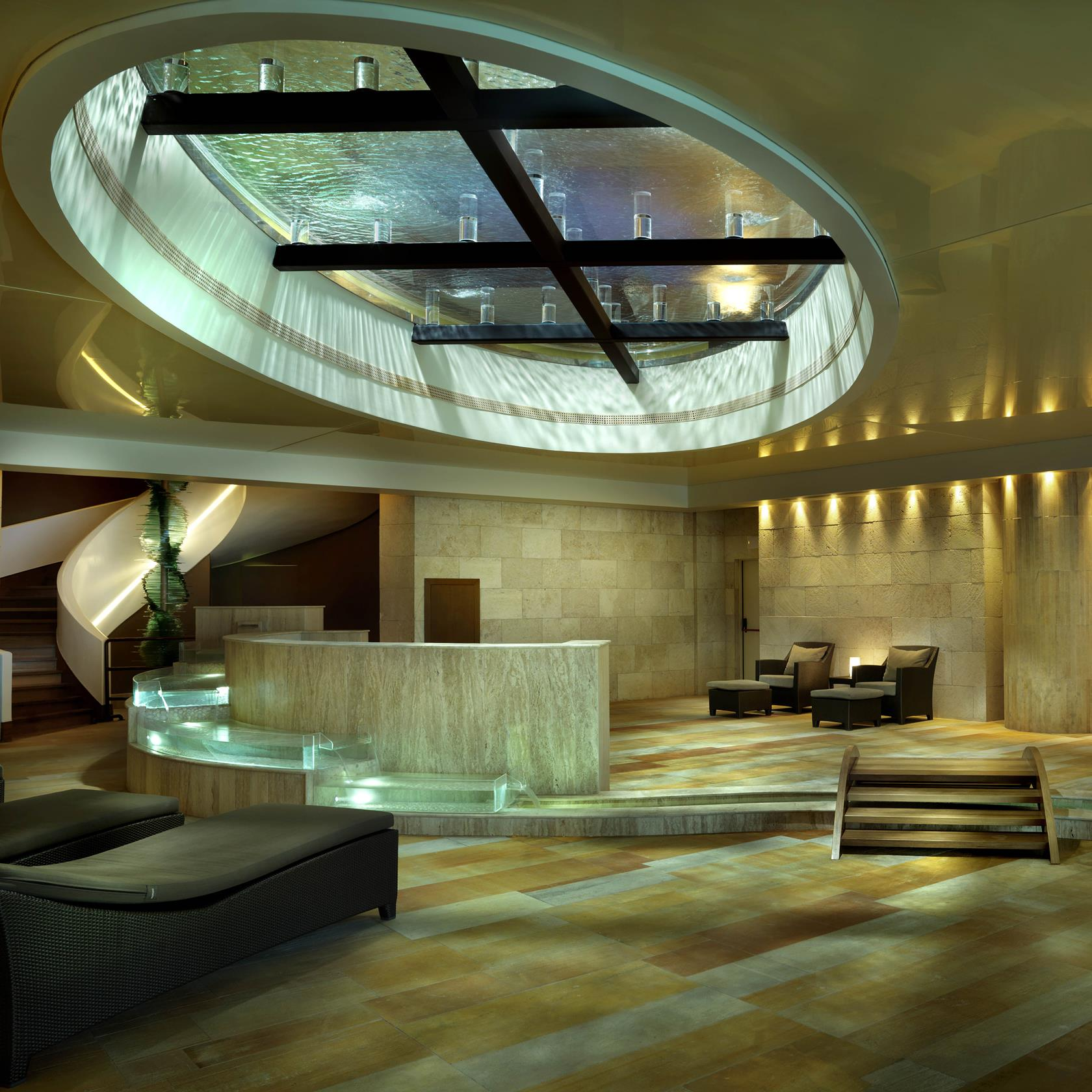 The Tepidarium at Six Senses Spa