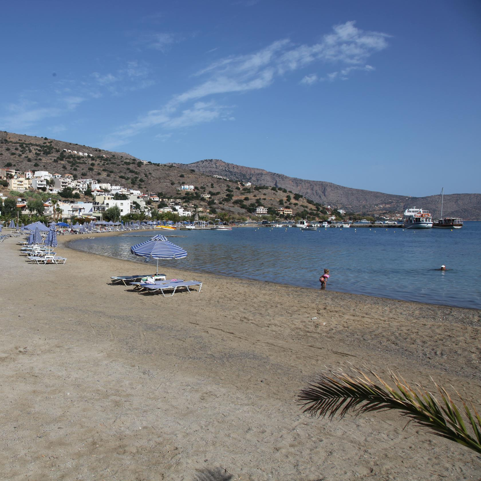 Blue Flagged beach of Elounda