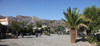 Main square of Elounda