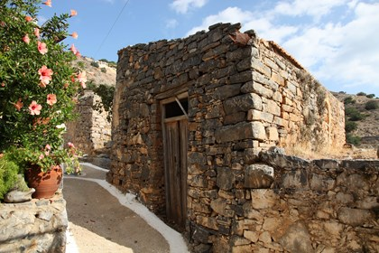 Old house in Pano (Upper) Elounda