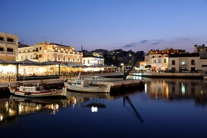 Agios Nikolaos is a vivid town with plenty of nightlife alternatives