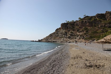 Beautiful beach of Agia Fotia beach bar and Traditional tavern included South an hour or so
