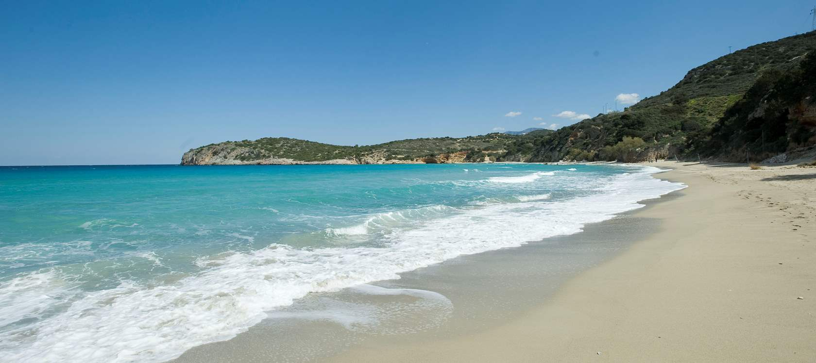Istron or Voulisma beach South 30 to 40min