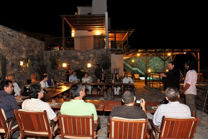 Solfez Villas are ideal for small scale events