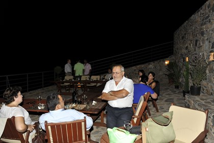 Theodor Stambouloglou co owner of Elounda Solfez Villas