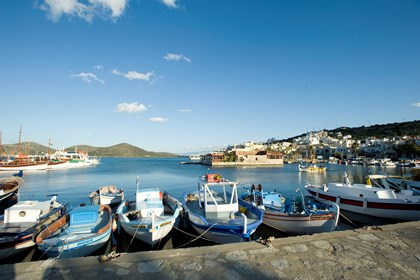 The harbor of Elounda